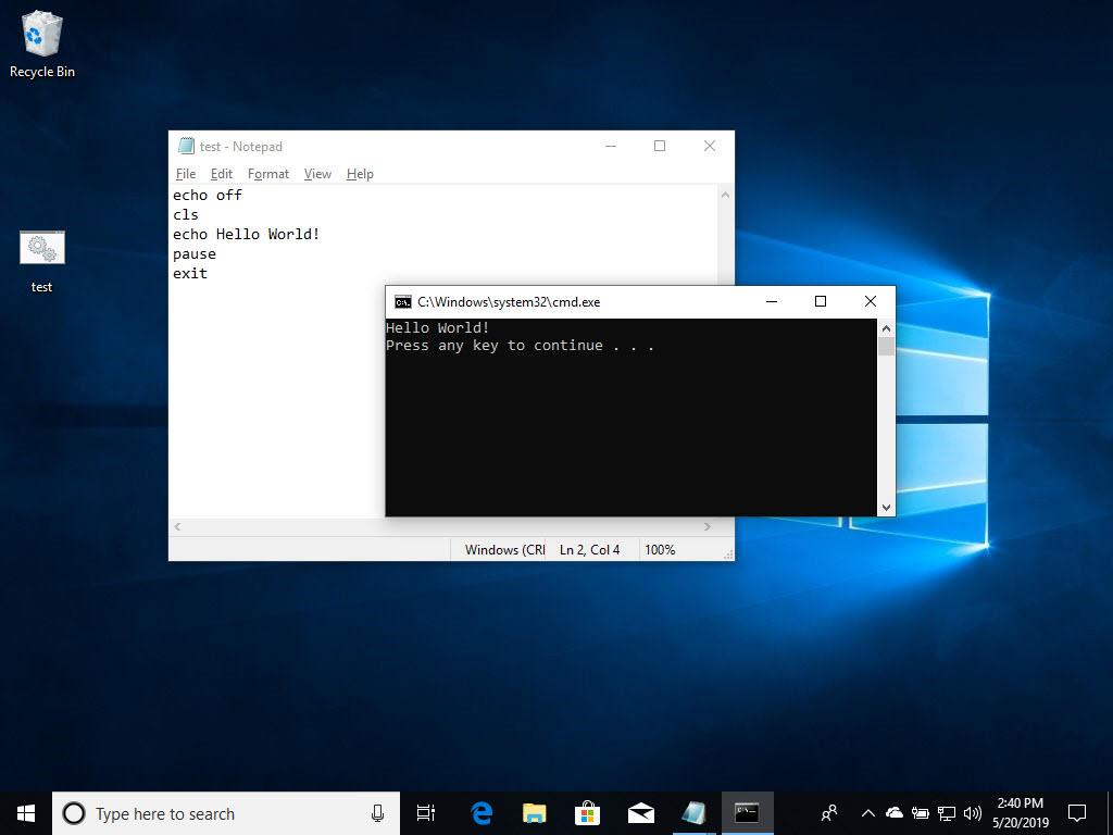 How Do I Run A Batch File In Windows 10 Langa Com